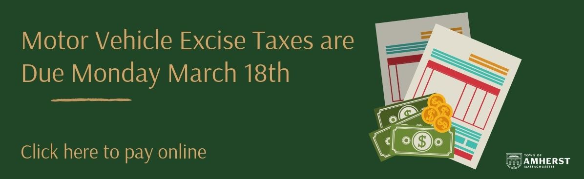 excise tax due march 18 banner